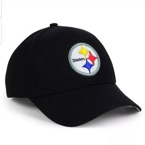 Pittsburgh Steelers Team Apparel Black Hat